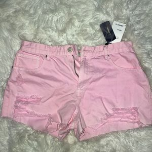 Pink forever 21 shorts